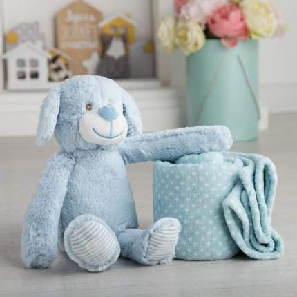 Плед с игрушкой Крошка Я Дружок 75x100 см