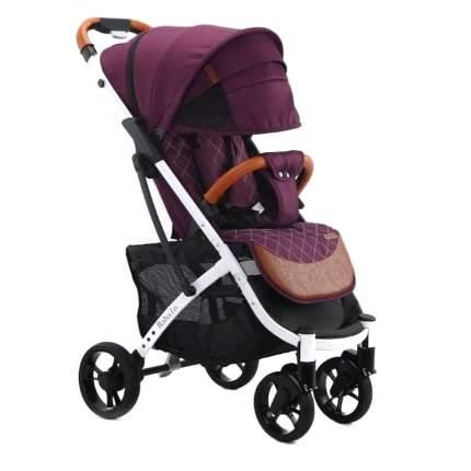 Прогулочная коляска YOYA Babalo 2020 фиолетовая , белая рама