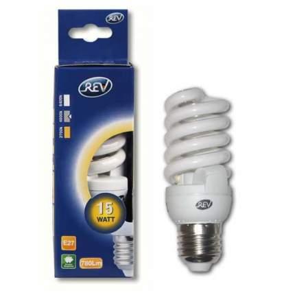 Лампочка энергосберегающая, спираль Е27 15W 4000K холодный свет