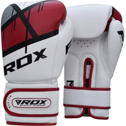 Боксерские тренировочные перчатки RDX BGR-F7 RED