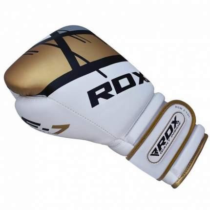Боксерские тренировочные перчатки RDX BGR-F7 GOLDEN