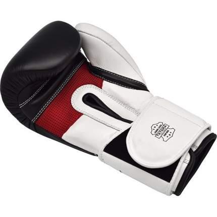Боксерские тренировочные перчатки RDX LEATHER S5 BLACK
