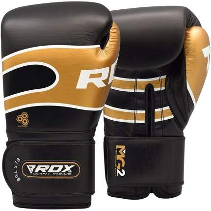 Боксерские тренировочные перчатки RDX PRO S7 BLACK