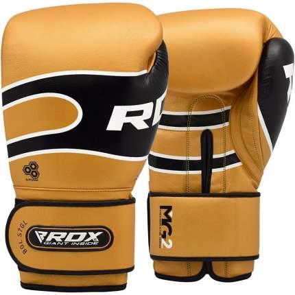 Боксерские тренировочные перчатки RDX PRO S7 GOLDEN