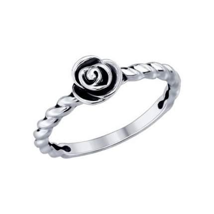 Кольцо женское SOKOLOV из серебра 95010079 р.18.5