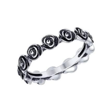 Кольцо женское SOKOLOV из серебра 95010080 р.18