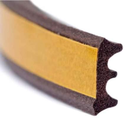 Уплотнитель для окон и дверей Isotape E10, коричневый