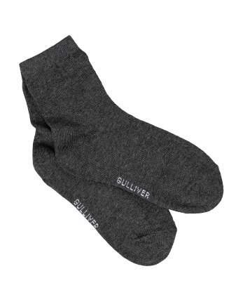 Комплект носков (3 пары) для мальчиков Gulliver, цв. черный, р.22