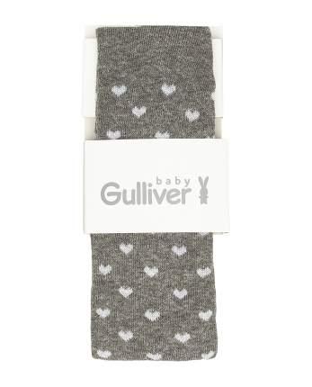 Колготки для девочек Gulliver, цв. серый, р.86