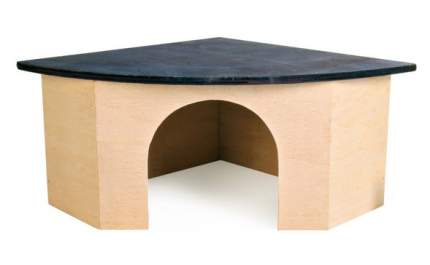 Домик для морские свинки, дегу, шиншиллы, кролики TRIXIE дерево 15х38.5х27.5см