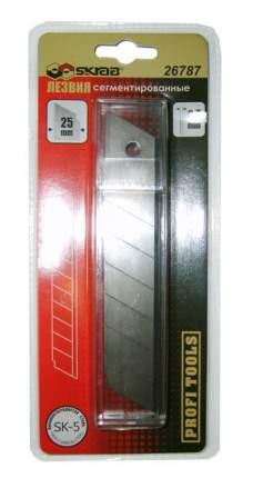 Лезвия сменные 0,7мм В-25мм 10шт SKRAB 26787