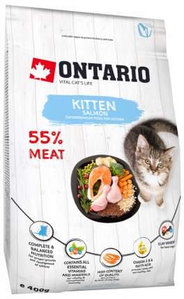 Сухой корм для котят Ontario , рыба,  0.4кг