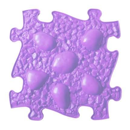 Модульный коврик ИграПол Камешки большой светло фиолетовый