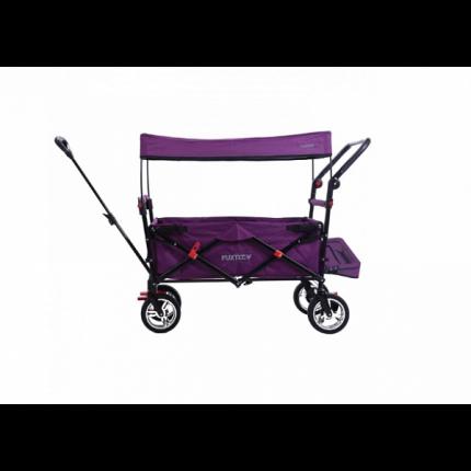 Тележка ручная Fuxtec CT800Р с навесом фиолетовый