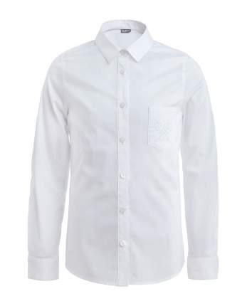 Блузка для девочек Gulliver, цв. белый, р.140