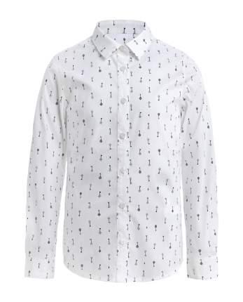 Блузка для девочек Gulliver, цв. белый, р.122