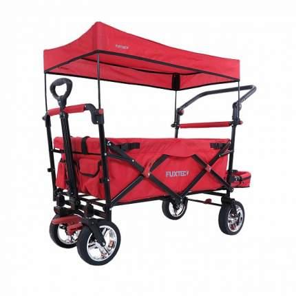 Тележка ручная Fuxtec СТ-800R с навесом красный