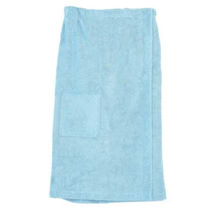 Парео для бани махровое For Salon голубое