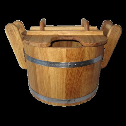 Запарник для бани Бонпос дуб 23 л