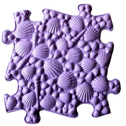 Модульный коврик ИграПол Ракушки большой светло фиолетовый