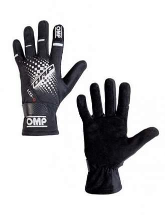 Перчатки для картинга OMP Racing KK02744E071XXS KS-4 my2018 черный р XXS