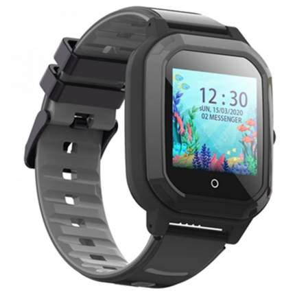 Детские смарт-часы Wonlex Smart Baby Watch KT20 Black/Black