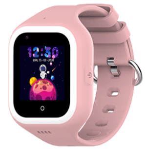 Детские смарт-часы Wonlex Smart Baby Watch KT21 Pink/Pink