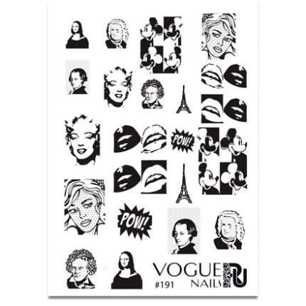 Слайдер-дизайн Vogue Nails №191
