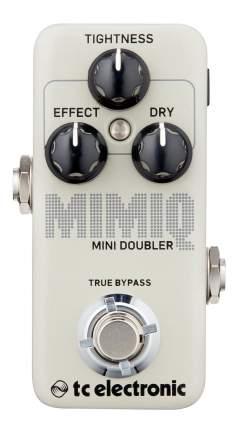 Педаль эффекта дублирования гитары TC Electronic Mimiq Mini Doubler