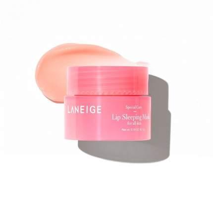 Маска для губ ночная Laneige Lip sleeping mask mini pink, 3мл