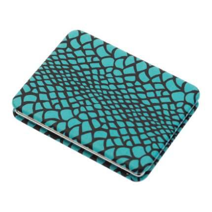 Зеркало Dewal «Дикая природа» карманное прямоугольное голубая рептилия