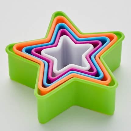 """Набор форм для печенья 5 размеров Delta """"Звездочки"""""""