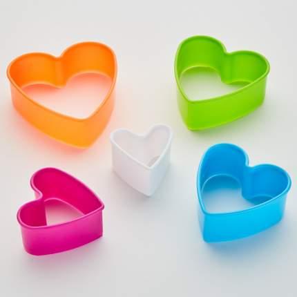 """Набор форм для печенья 5 размеров Delta """"Сердечки"""""""
