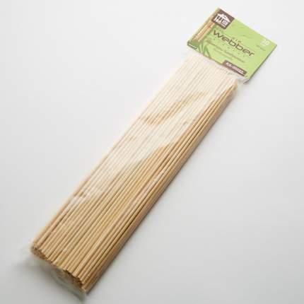 Шампуры для шашлыка бамбуковые Webber 30 см, 100 шт
