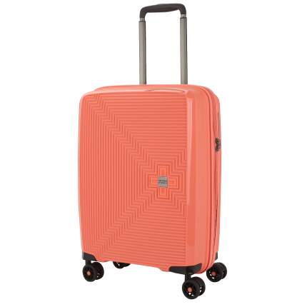 Stevens by Eberhart, Breeze, чемодан, пластик, оранж.