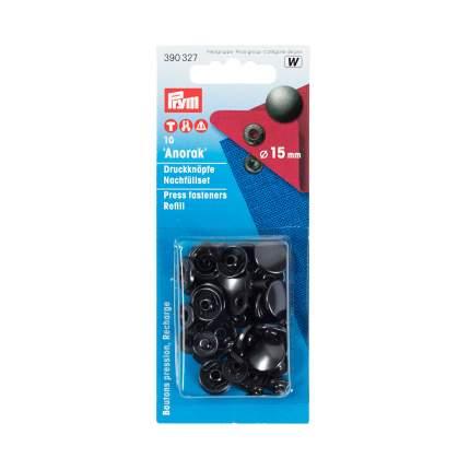 Кнопки Анорак черные PRYM, 390327
