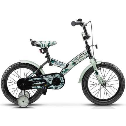 "Велосипед Stels Fortune V010 2020 16"" хаки/черный"