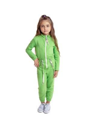 Комбинезон детский Archy, цв. зеленый, р-р 104