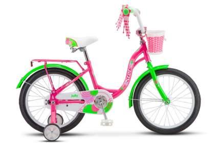 """Велосипед Stels 18' Jolly V010 2020 18"""" пурпурный/зеленый"""