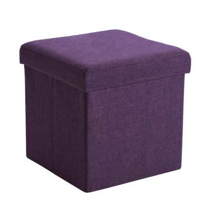 Пуф раскладной Пикник фиолетовый