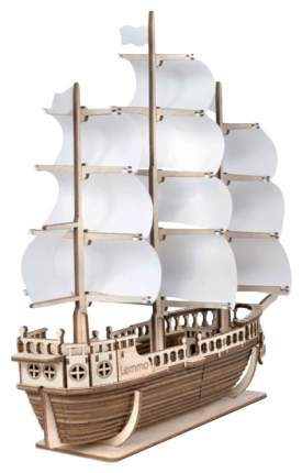 Сборная модель из дерева Lemmo Корабль Ламар 01-45
