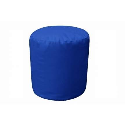 Бескаркасный пуф-цилиндр Pazitif БМЭ10 one size, экокожа, Синий