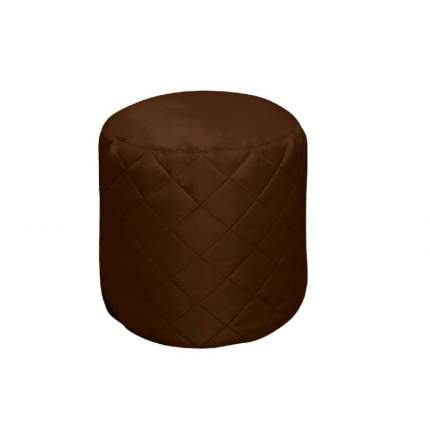Бескаркасный пуф-цилиндр Pazitif БМО11 one size, оксфорд, Шоколад