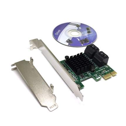 Контроллер PCI-E Espada PCIe4SATA3ASM