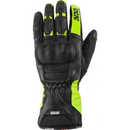 Кожаные мотоперчатки женские IXS Glasgow X42038 035 Black/neon S