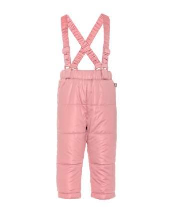 Утепленные брюки для девочек Gulliver, цв. розовый, р.74