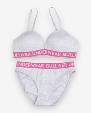 Комплект нижнего белья Gulliver, цв. серый р.134