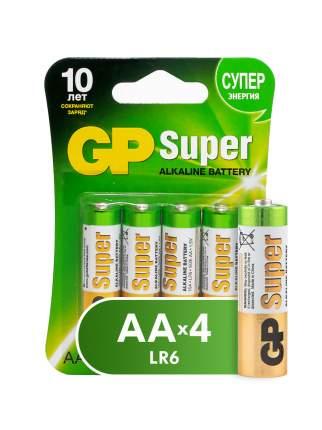 Батарейка GP Super AA (LR06) 4 шт