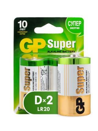 Батарейка GP Super D (LR20) 2 шт