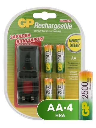 Зарядное устройство + аккумуляторы GP PB330GSCW250BB5-2CR4 AA 4 шт. 1300 mAh